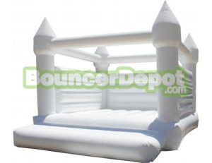 white-wedding-bounce-house-