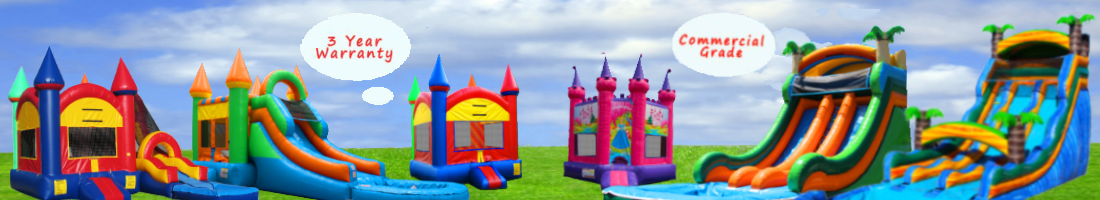 LEADING MANUFACTURER OF COMMERICAL GRADE INFLATABLES